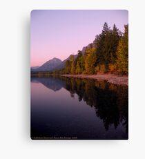 Lake MacDonald - Glacier National Park Canvas Print