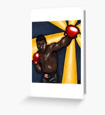 Sonny's Barber Shop Collab//Sonny Liston Art Greeting Card