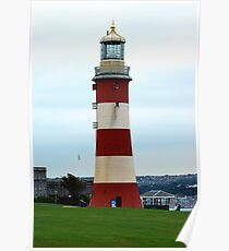 Smeatons Tower, Plymouth Hoe. Poster