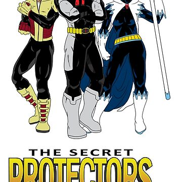 The Secret Protectors Team by Cosmodious