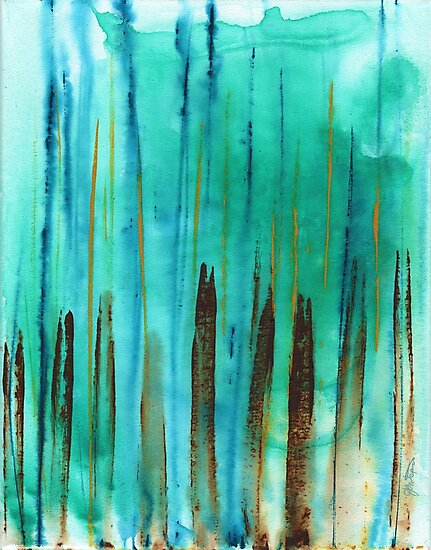 Beach Fence by Janet Antepara