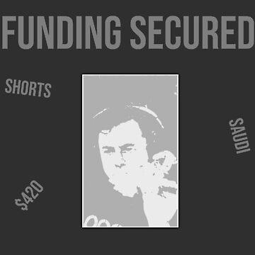 Elon Musk Funding Secured Meme - C&A Finance by ColorandArt-Lab