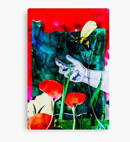 BAANTAL / Pollinate / Evolution #8 Canvas Print