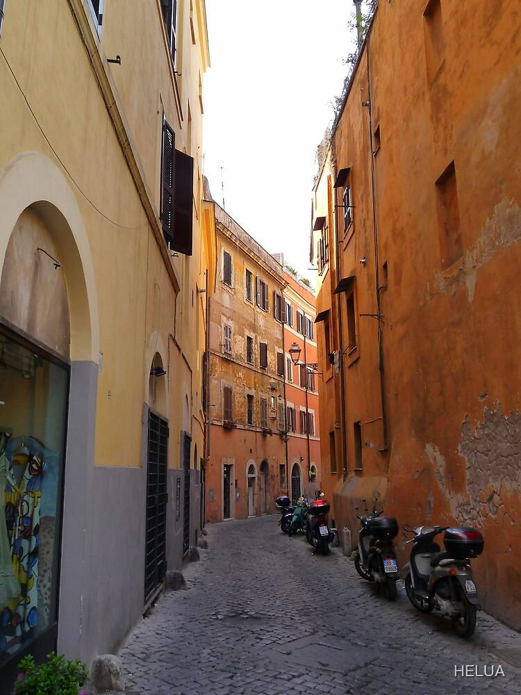 Narrow Lane by HELUA