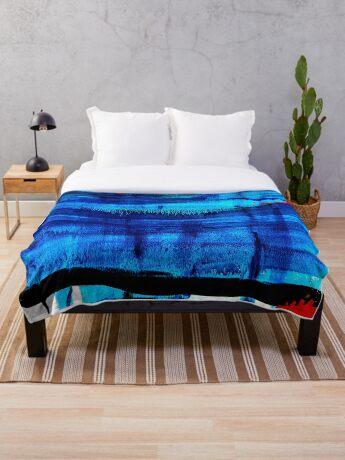 BAANTAL / Night #2 Throw Blanket