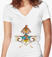Master of the Sky Women's Fitted V-Neck T-Shirt