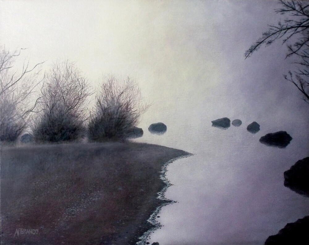 Campbell Lake Fog by A. F. Branco