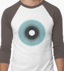 NAUTILUS (AQUA/BLACK) Camiseta ¾ estilo béisbol