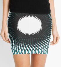 NAUTILUS (AQUA/BLACK) Minifalda
