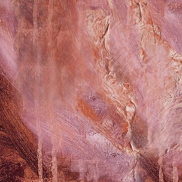 Textured Abstract in Mauve by JMarielle