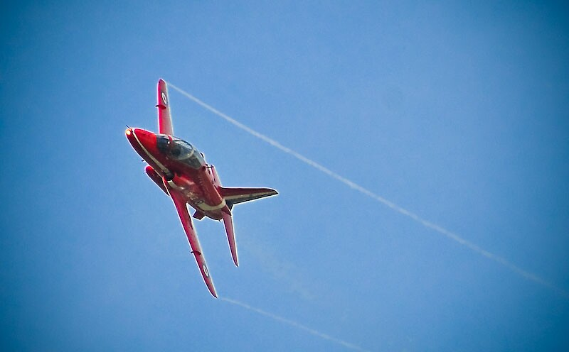 Red Arrows by Pat Shawyer