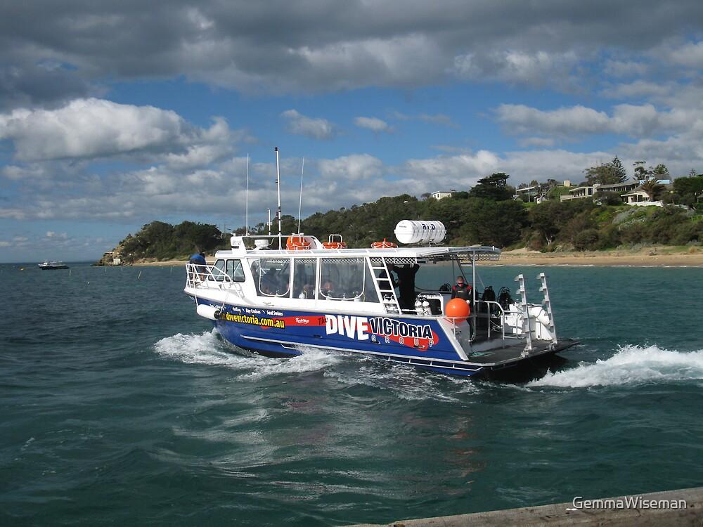 Dive Victoria at Portsea by GemmaWiseman