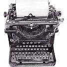 Vintage Schreibmaschine von WhileIWonder