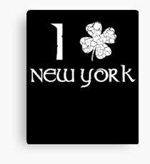 St. Patrick's Day City Pride - NEW YORK Canvas Print