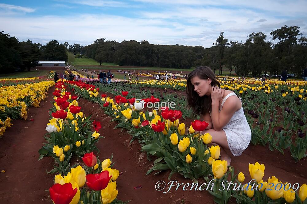 The tulip field 2 by Froggie