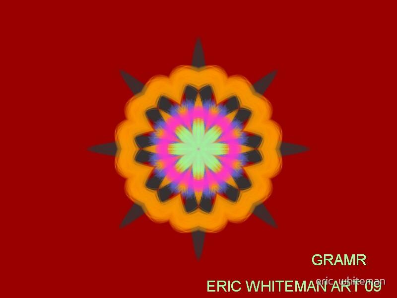 ( GRAMR ) ERIC WHITEMAN ART   by eric  whiteman