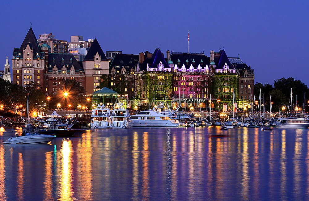 Quot Empress Hotel In Victoria British Columbia Canada Quot By