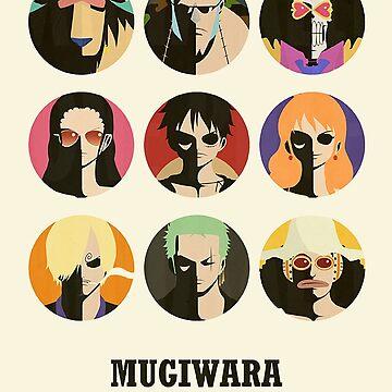 Mugiwara Pirates One Piece by SenxCreations
