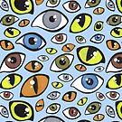 Spooky Eyes by Evvie Marin