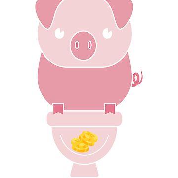 GOLD PIG by Kriv71