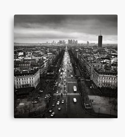 Paris cityscape Canvas Print