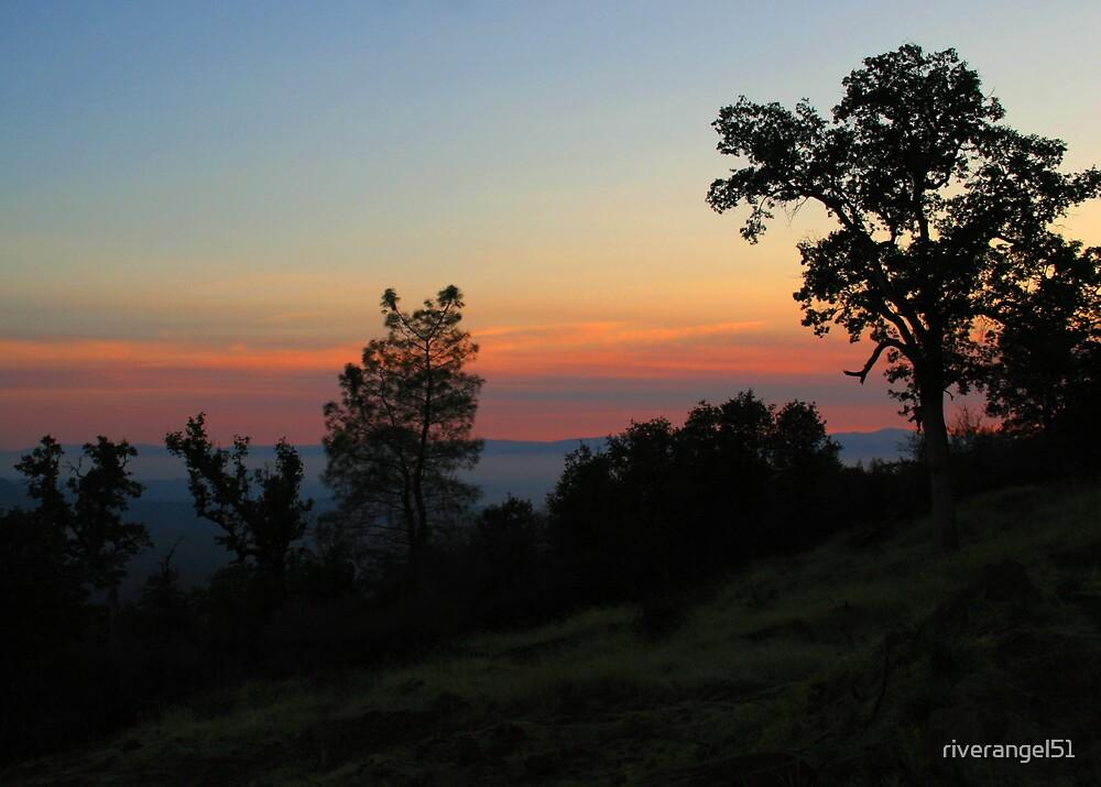 Mountain Sunset by riverangel51