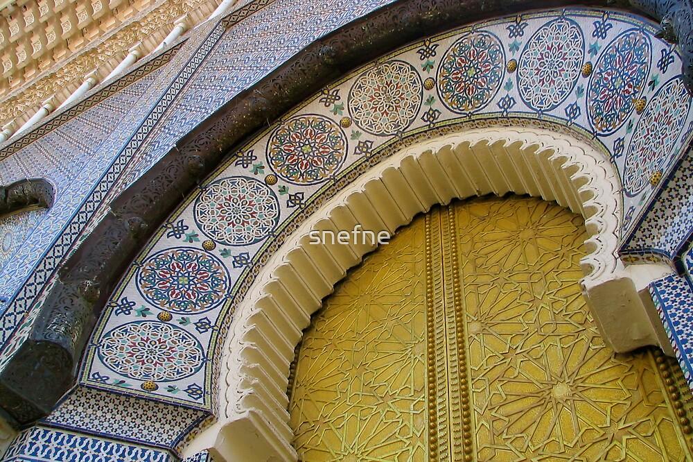Palace Door by snefne