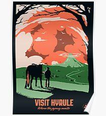 Visit Hyrule Poster