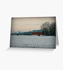 Wisconsin Winter Greeting Card