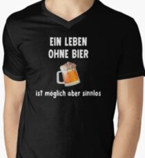 Life Without Beer Is Possible But Pointless Men's V-Neck T-Shirt