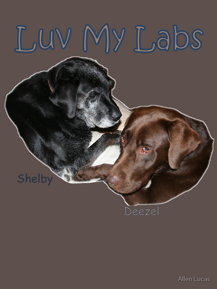Luv My Labs by BlackDogCountry
