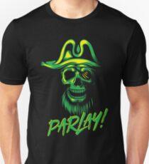 Parlay! Pirate Halloween Sprich wie ein Piratentag Slim Fit T-Shirt