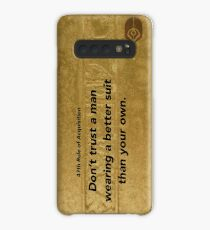47th Rule of Acquisition (vertical) Case/Skin for Samsung Galaxy