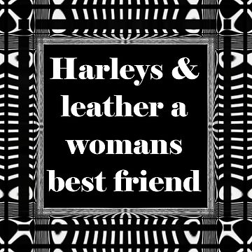 Harleys & Leather by DBBArt