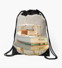 Boats of New England Drawstring Bag