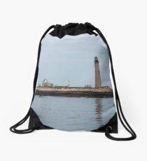 Lighthouses of Maine Drawstring Bag