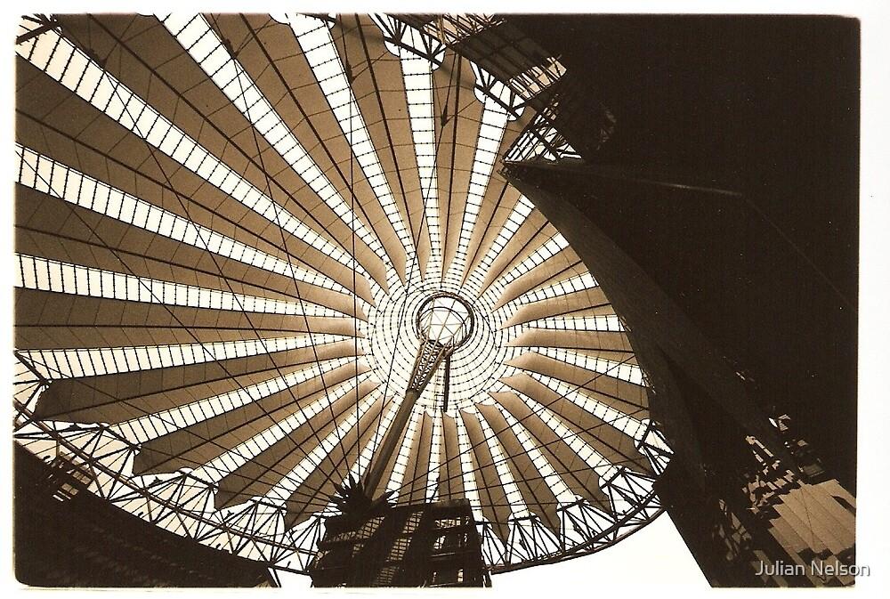 Sony Center Potsdamerplatz by Julian Nelson