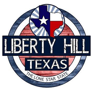 Liberty Hill Texas rustic wood circle by artisticattitud