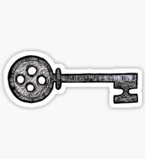 Pegatina Coraline Key