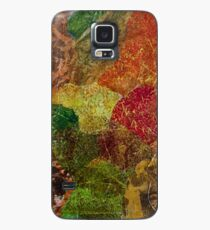 Abstract Fall print  Case/Skin for Samsung Galaxy