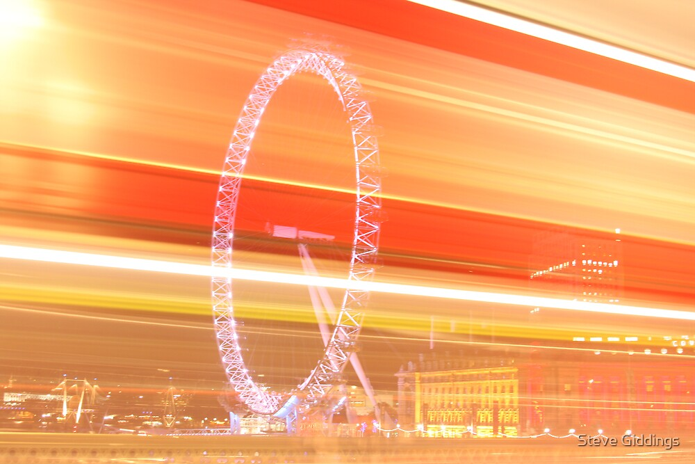 London Eye by Steve Giddings
