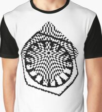 #white #black #abstract #pattern #3d #texture #checkered #illustration #arrow #design #cursor #isolated #flag #pixel #computer #icon #tile #square #symbol #graphic #mouse #concept #perspective Graphic T-Shirt