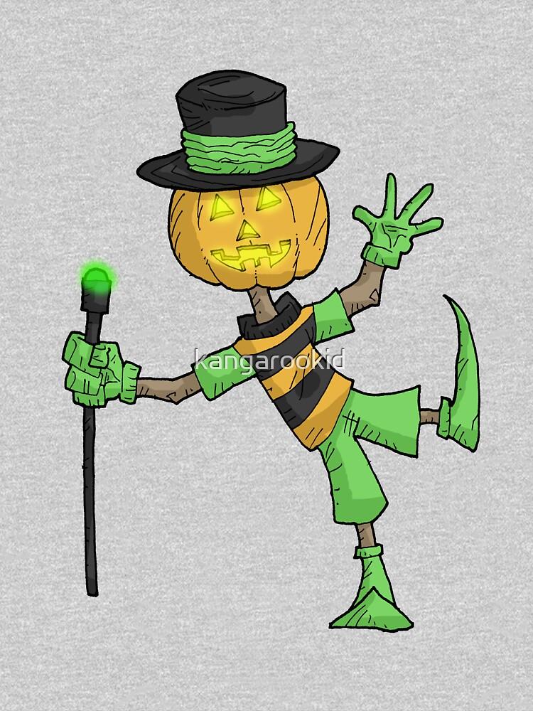 the pumpkin dancer... by kangarookid