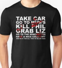 Go to the Winchester and wait for all this to Blow Over T-Shirt