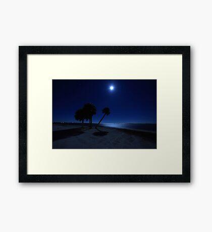 starry nights Framed Print