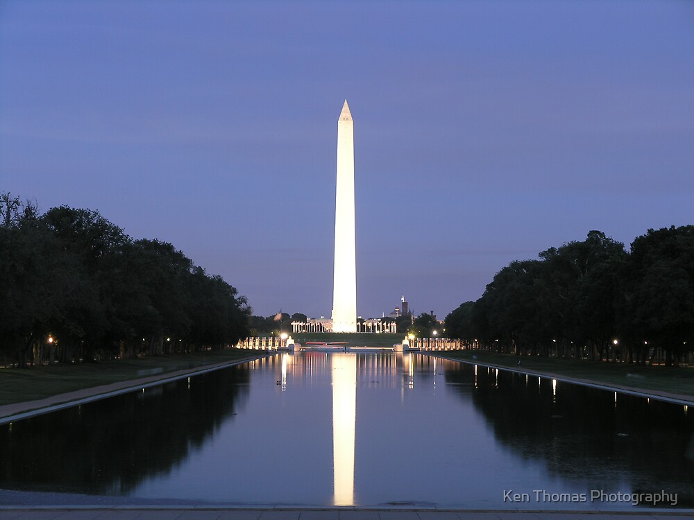 Lights on the Mall by Ken Thomas Photography