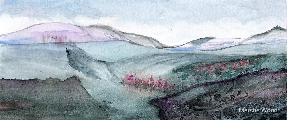 Landscape II by Marsha Woods