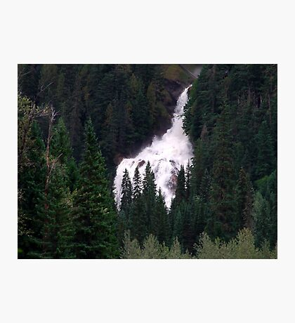 Falls in the Forest Photographic Print