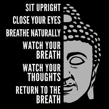 How to Meditate Step by Step Guide with Buddha by elvindantes