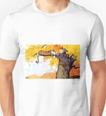 calvin n hobbes sleep Unisex T-Shirt
